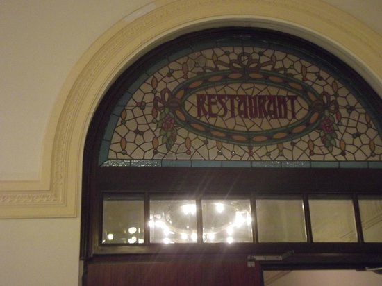 "Hotel Peninsular: Déco  ""moderniste""."