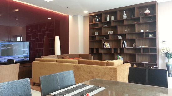 Somerset Vista Ho Chi Minh City : Resident's Lounge where breakfast is served