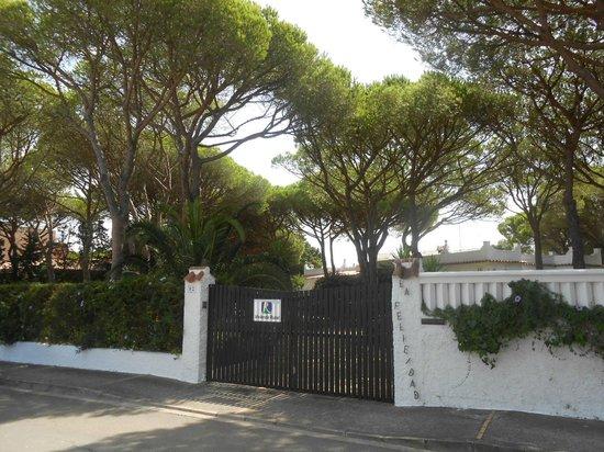 Casa la Felicidad: entrance