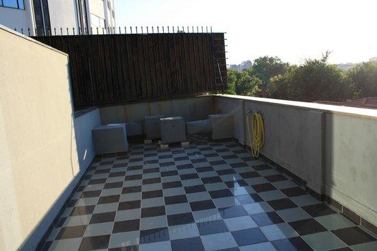 3k Barcelona Hotel : Uteplats, inte den vackrast men bra att ha!