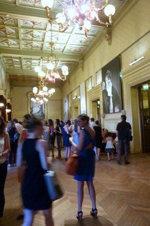Chatelet - Theatre Musical de Paris: during intermission