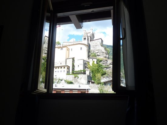 Hotel-Residence Chateau: Dalla finestra del residence chateau
