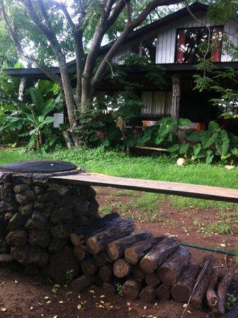 Cabanas Koro Nui: vista de las cabañas