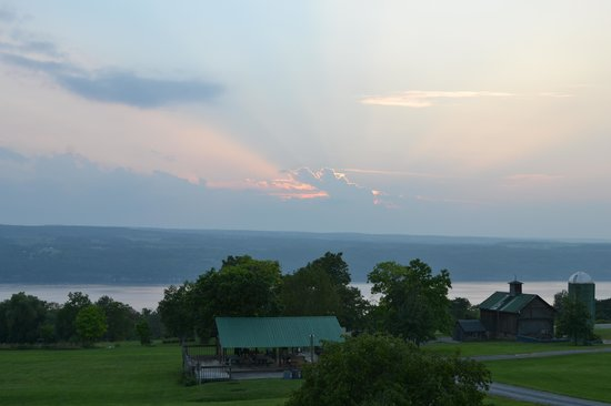 The Inn at Grist Iron: Our Lake view.........