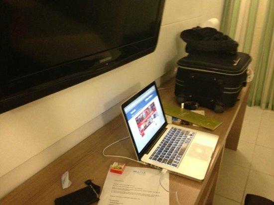 Quality Hotel & Suítes São Salvador : Quarto duplo (2 camas de solteiro)