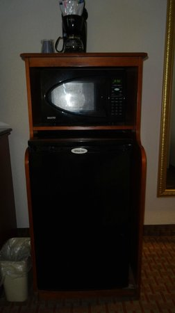 Holiday Inn Express Hotel & Suites Allentown - Dorney Park Area: Clean Fridge and Microwave