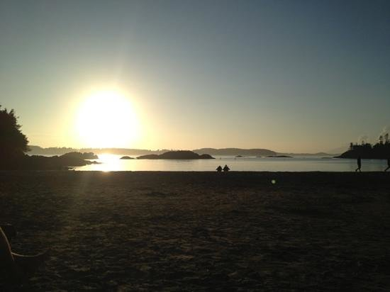 Crystal Cove Beach Resort: Nice sunset.