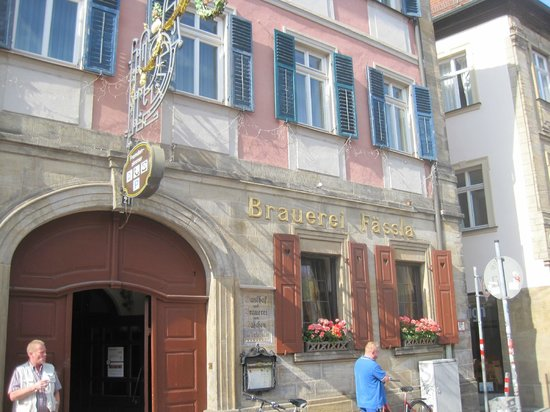 Brauereigasthof Fässla: Entrance