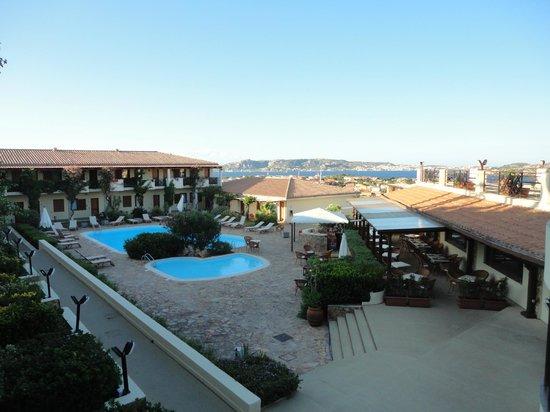 Hotel Palau: Foto Albergo con panorama