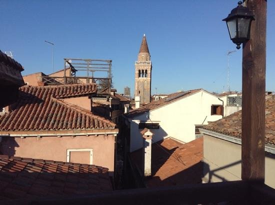 Ca' San Polo: view from terrance