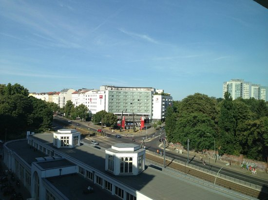Soho House Berlin: View from small room