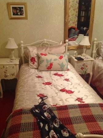 Grantham House : Our gorgeous twin room.