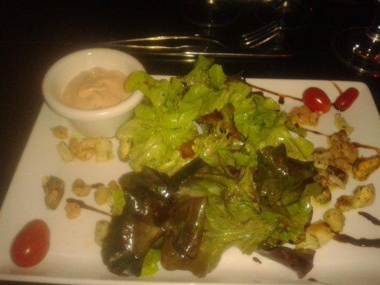Rocher des Pirates : Salade de la mer entrée du menu