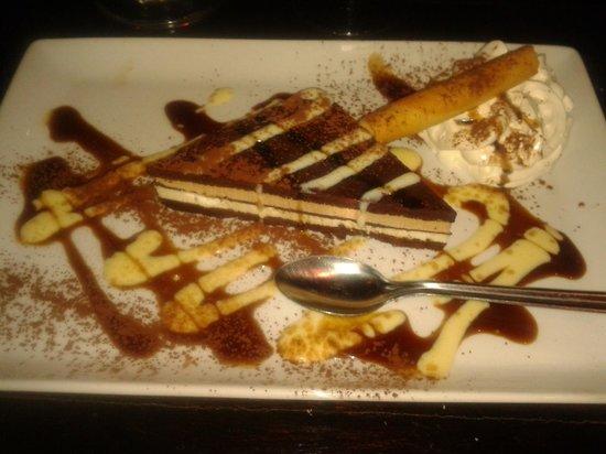 Rocher des Pirates : dessert du menu