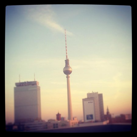 Soho House Berlin: View from the rooftop
