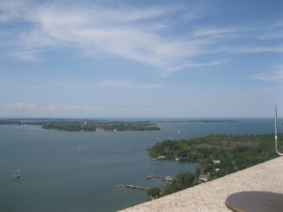 Perry's Victory & International Peace Memorial: The View from Perry's Memorial 8/17
