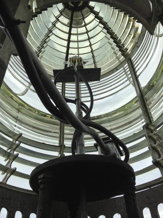 Cana Island Lighthouse: The original light still is operational!