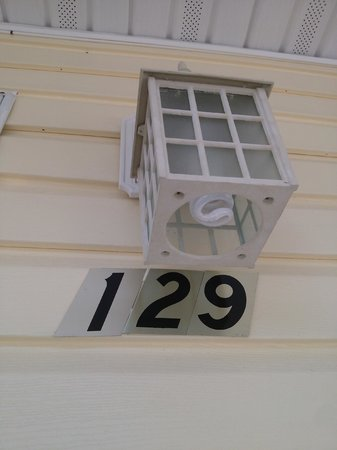 Heritage of Lake George Motel: Our room number.