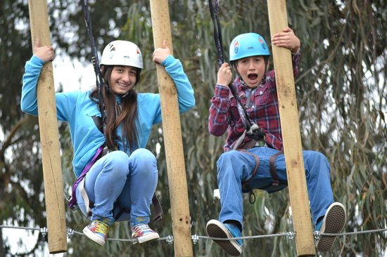 Parque Acuatico Aviva: Canopy Naufragio Pirata!