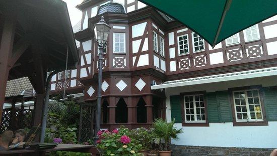 Weindorf Koblenz: The restaurant