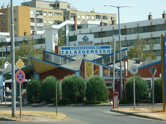 Zalaegerszeg, Hungría: bus station