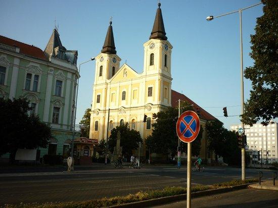 Zalaegerszeg, Hongrie : just an old beautiful building