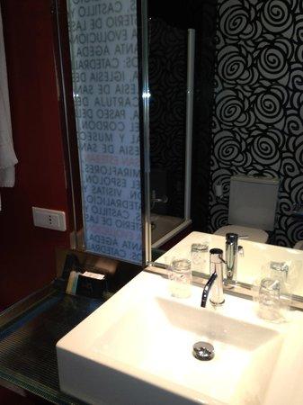 Hotel Via Gotica: bagno
