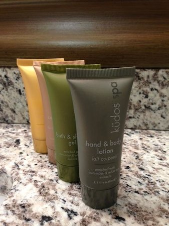 Park Plaza Resort: Lovely Australian toiletry collection