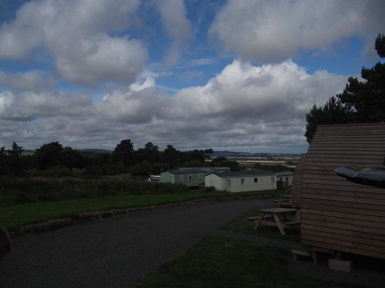 Meadowheads Waren Caravan Park: View from the Wigwams