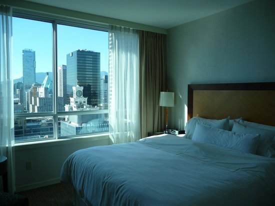 The Westin Grand, Vancouver: hoher Schlafkomfort