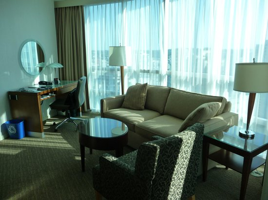 The Westin Grand, Vancouver: Wohnraum