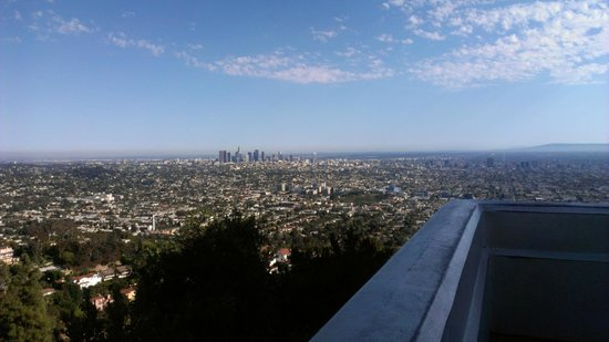 View Of La From Griffith Observatory Picture Of Griffith
