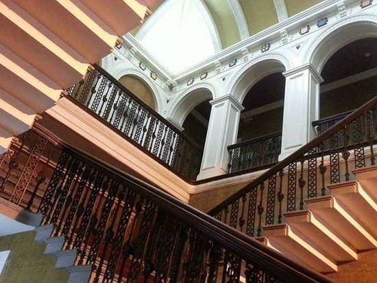Baskerville Hall Hotel: Stair way