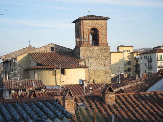 Albergo Fiorentino : tetti di Sansepolcro