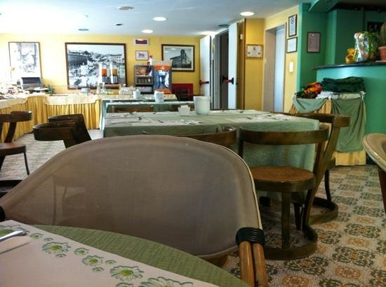 Hotel Acerboli: sala colazioni