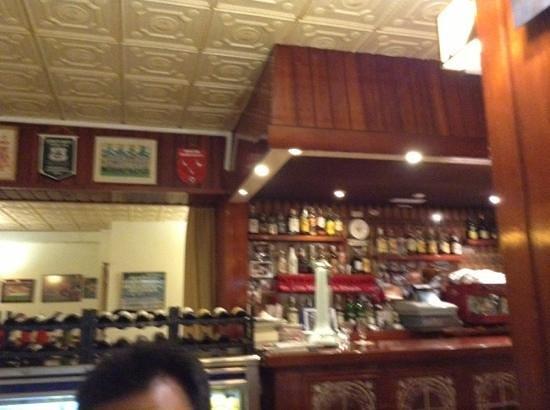 Restaurante Pepe Caribe: bar interno del restaurante
