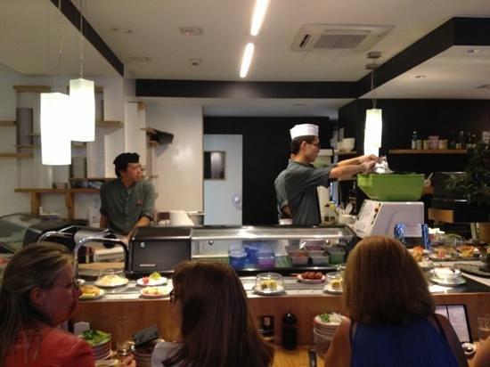 Matsuri Passy : la cocina a la vista