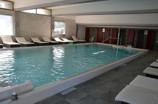 Terme Milano Hotel: piscina coperta