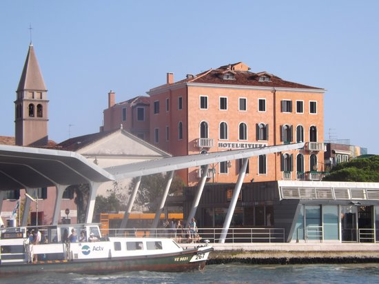 Riviera Hotel: View of the hotel from the water