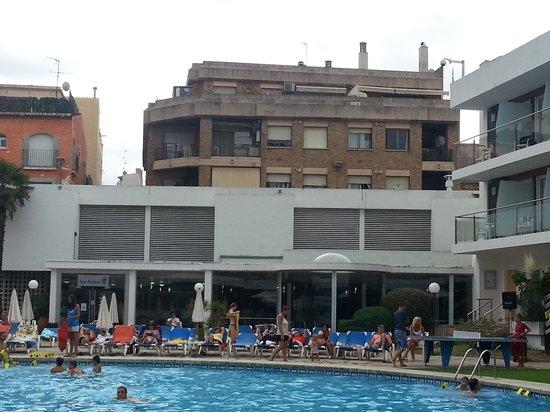 Hotel Anabel: pas mal la vue du balcon