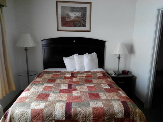 MainStay Suites Texas Medical Center/Reliant Park: Bedroom