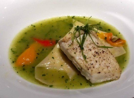 MK The Restaurant : halibut