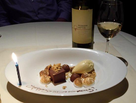 MK The Restaurant : birthday treat surprise!