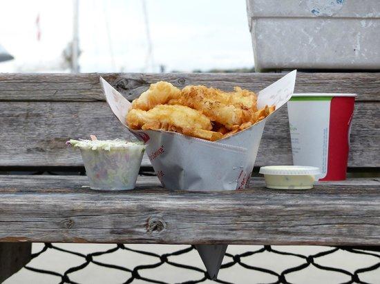 Dicks Fish & Chips - MOVED: 2 piece halibut/chips. fantastic!