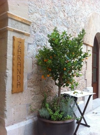 Castell Son Claret: one star restaurant