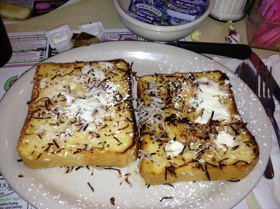 Ginny's Cafe: Coconut French Toast - YUMMY!