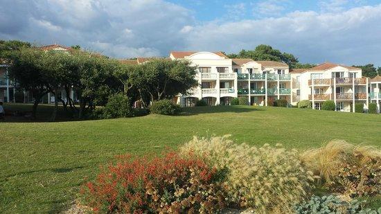 Pierre & Vacances Village Port-Bourgenay : vu des logements