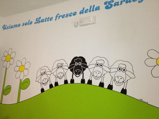 La Pecora Nera: Farbe und Vielfalt