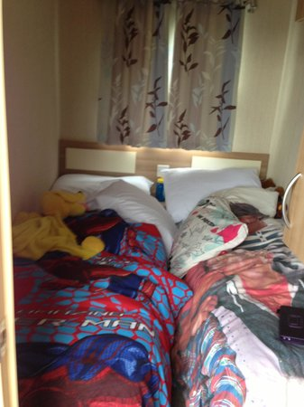 Sandymouth Holiday Park : Twin Room