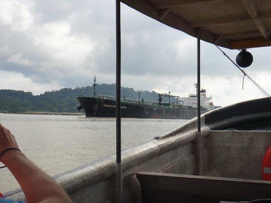 Jungle Land Panama Floating Lodge: Canal